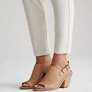 Eileen Fisher Glance Vacchetta Leather Sandal